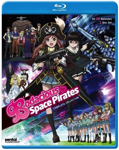 モーレツ宇宙海賊 コンプリートコレクション ブルーレイ TVアニメ Bodacious Space Pirates Complete Collection Blu-ray・お取寄