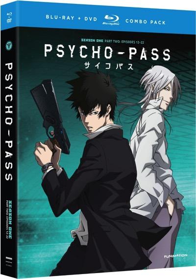 サイコパス パート2 ブルーレイ DVD コンボ TVアニメ Psycho-Pass Part Two Blu-ray DVD Combo・お取寄