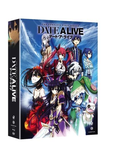 デート・ア・ライブ シーズン1 リミテッドエディション ブルーレイ・DVDコンボ TVアニメ Date A Live Season 1 Limited Edition Blu-ray DVD Combo・お取寄