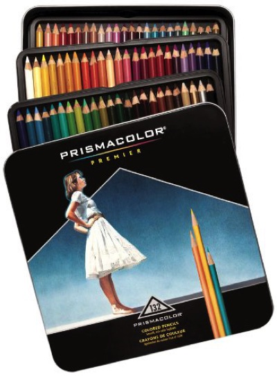 SANFORD サンフォード プリズマカラー132色セット Prismacolor 高品質の色鉛筆セット・お取寄