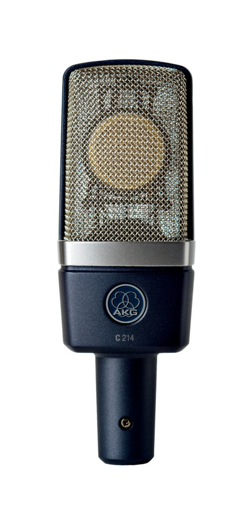 AKG C214 サイドアドレス型コンデンサーマイクロフォン【アーカーゲー/エーケージー】