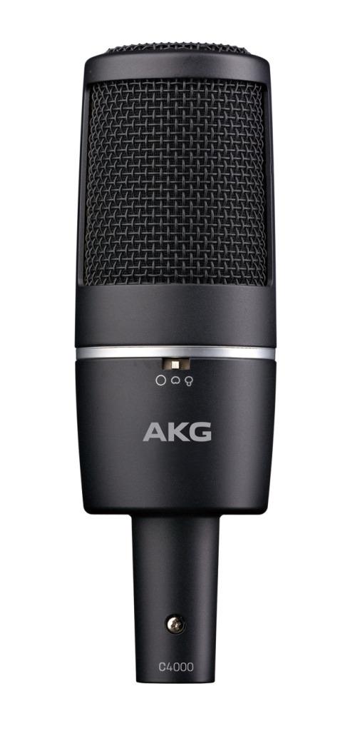 AKG C4000 サイドアドレス型コンデンサーマイクロフォン【アーカーゲー/エーケージー】