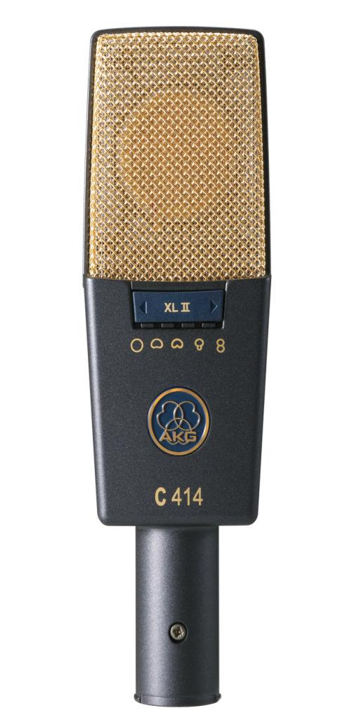 AKG C414 XL II サイドアドレス型コンデンサーマイクロフォン【アーカーゲー/エーケージー】