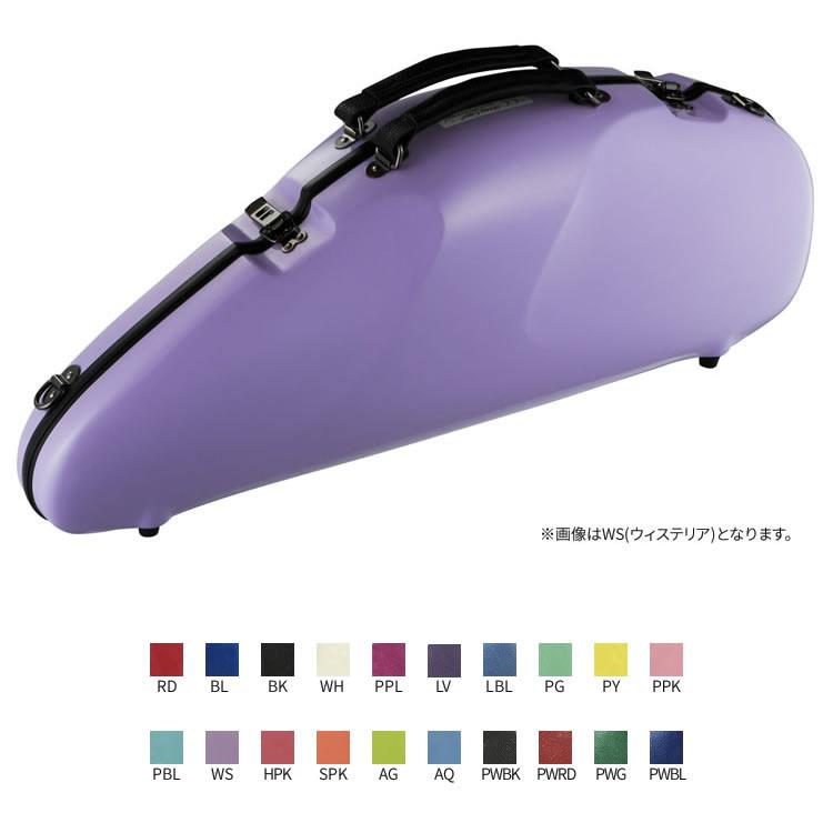 C.C.シャイニーケースII アルトサックス エアロ [エアロシリーズ NEWカラー 全20色]【CC Shiny Case CCシャイニーケース】