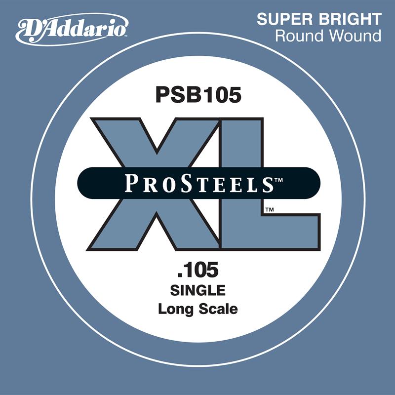 D'Addario ベース バラ弦 5本セット PSB105 Prosteels【daddario ダダリオ ベース弦 psb105】【ゆうパケット対応】
