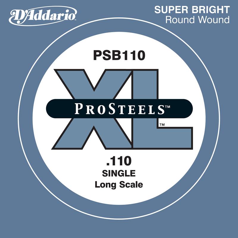 D'Addario ベース バラ弦 5本セット PSB110 Prosteels【daddario ダダリオ ベース弦 psb110】【ゆうパケット対応】