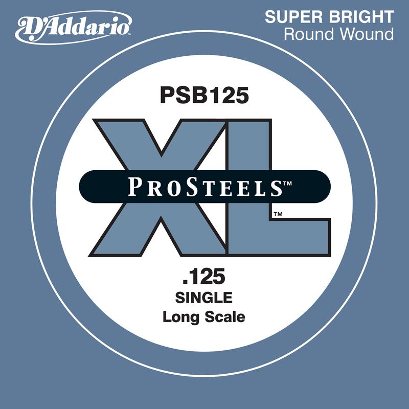 D'Addario ベース バラ弦 5本セット PSB125 Prosteels【daddario ダダリオ ベース弦 psb125】【ゆうパケット対応】