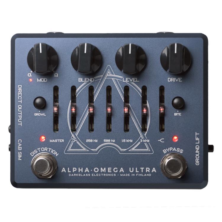 【今だけポイント5倍!12月2日9時59分まで】Darkglass Electronics プリアンプ Alpha Omega Ultra【ベース用エフェクター ダークグラスエレクトロニクス 】【ピック10枚セット付き!】