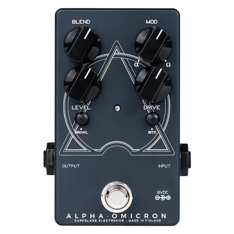 Darkglass Electronics ディストーション Alpha Omicron【ベース用エフェクター ダークグラスエレクトロニクス 】【ピック10枚セット付き!】