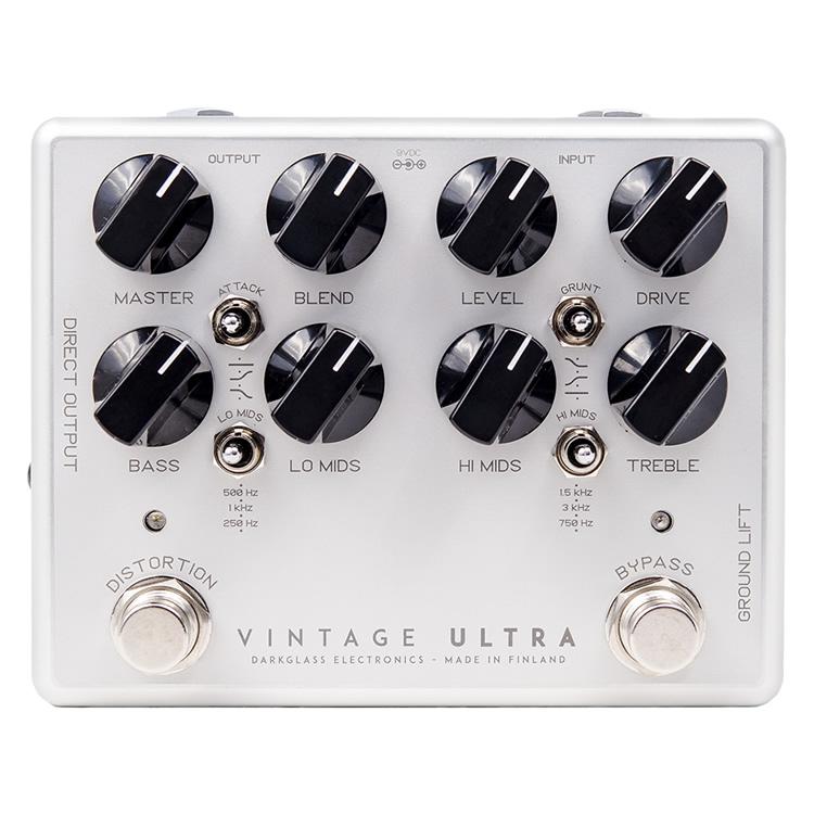 【今だけポイント5倍!12月2日9時59分まで】Darkglass Electronics オーバードライブ/プリアンプ Vintage Ultra (V2)【ベース用エフェクター ダークグラスエレクトロニクス 】【ピック10枚セット付き!】