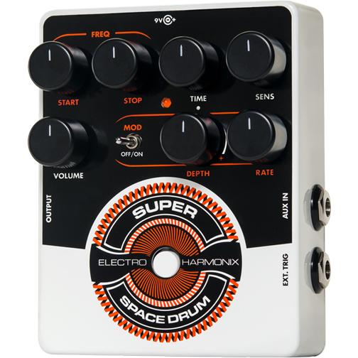 Super Space Drum (スーパースペースドラム) アナログドラムシンセサイザー【Electro-Harmonix/EHX/エレクトロ・ハーモニクス/エレハモ】【エフェクター】【ピック10枚セット付き!】