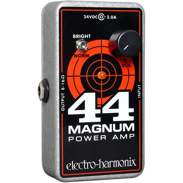 44 Magnum(44マグナム) パワーアンプ【Electro-Harmonix/EHX/エレクトロ・ハーモニクス/エレハモ】【エフェクター】【ピック10枚セット付き!】