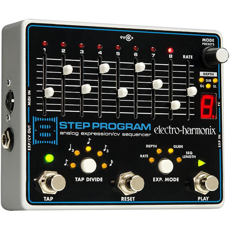 8 Step Program アナログ・シーケンサー【Electro-Harmonix/EHX/エレクトロ・ハーモニクス/エレハモ】【エフェクター】