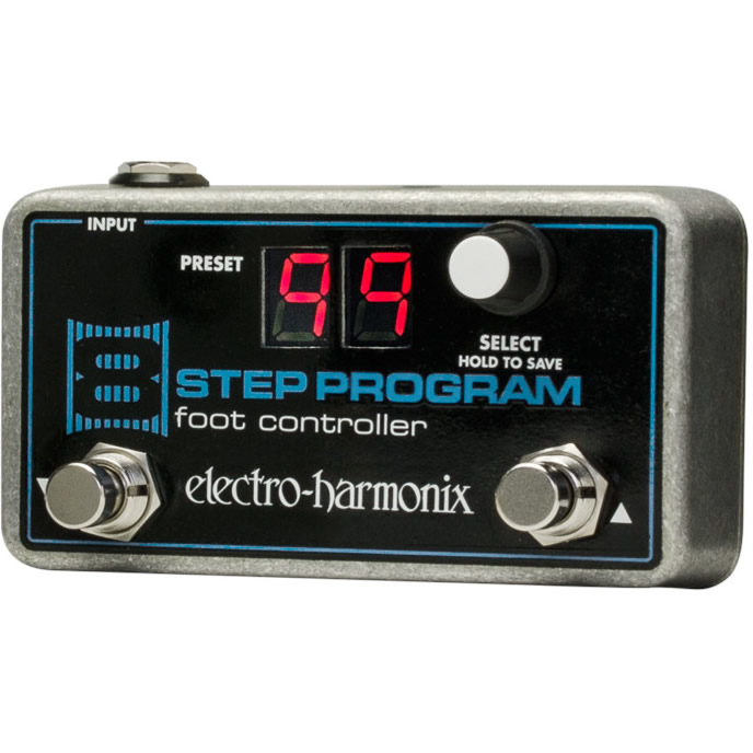 8 Step Program Foot Controller 8 Step Program専用フットコントローラー【Electro-Harmonix/EHX/エレクトロ・ハーモニクス/エレハモ】【エフェクター】【ピック10枚セット付き!】