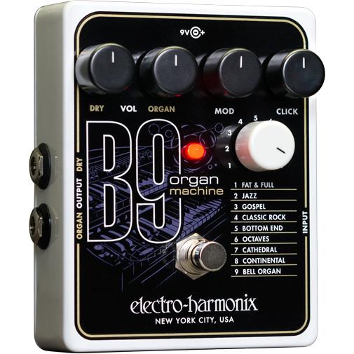 B9 Organ Machine(オルガンマシーン)【Electro-Harmonix/EHX/エレクトロ・ハーモニクス/エレハモ】【エフェクター】【ピック10枚セット付き!】