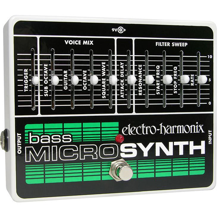Bass Micro Synthesizer(ベースマイクロシンセサイザー) ベース・シンセサイザー【Electro-Harmonix/EHX/エレクトロ・ハーモニクス/エレハモ】【エフェクター】【ピック10枚セット付き!】