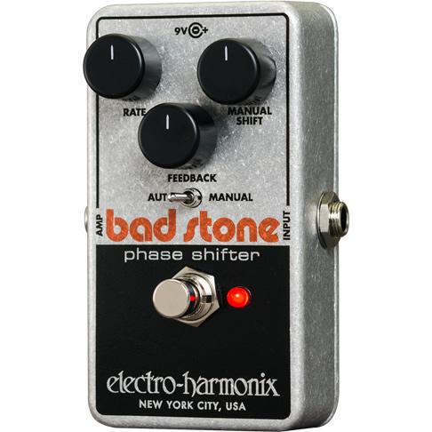 【今だけポイント5倍!12月2日9時59分まで】Bad Stone (バッドストーン) フェイズシフター【Electro-Harmonix/EHX/エレクトロ・ハーモニクス/エレハモ】【エフェクター】【ピック10枚セット付き!】