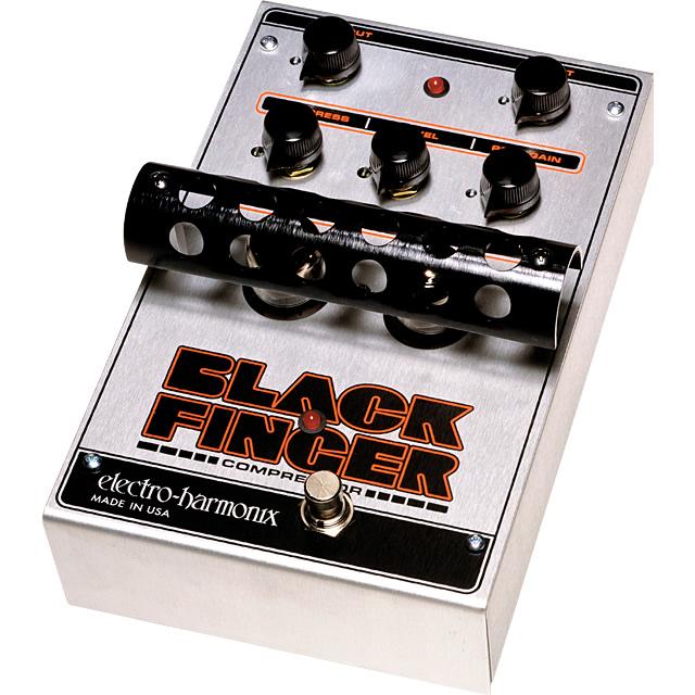 Black Finger(ブラックフィンガー) 真空管搭載コンプレッサー【Electro-Harmonix/EHX/エレクトロ・ハーモニクス/エレハモ】【エフェクター】【ピック10枚セット付き!】