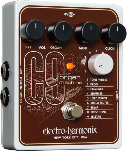 C9 Organ Machine(オルガンマシーン)【Electro-Harmonix/EHX/エレクトロ・ハーモニクス/エレハモ/C-9】【エフェクター】【ピック10枚セット付き!】