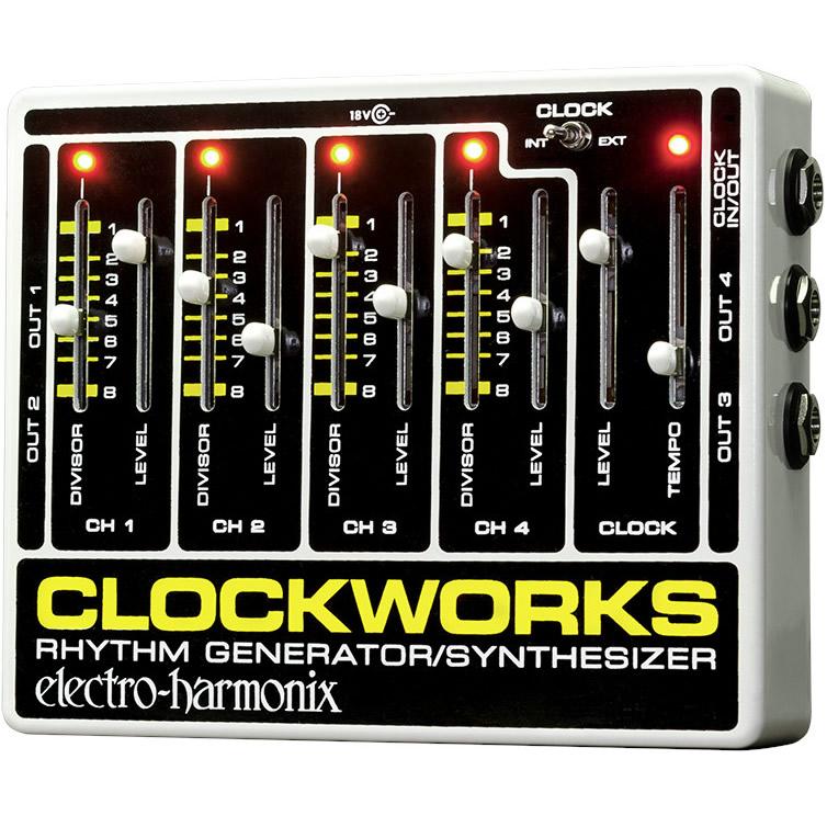 Clockworks(クロックワークス) リズムジェネレーター【Electro-Harmonix/EHX/エレクトロ・ハーモニクス/エレハモ】【エフェクター】【ピック10枚セット付き!】