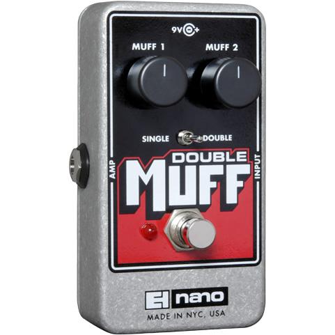 Double Muff(ダブルマフ) ディストーション/ファズ【Electro-Harmonix/EHX/エレクトロ・ハーモニクス/エレハモ】【エフェクター】【ピック10枚セット付き!】