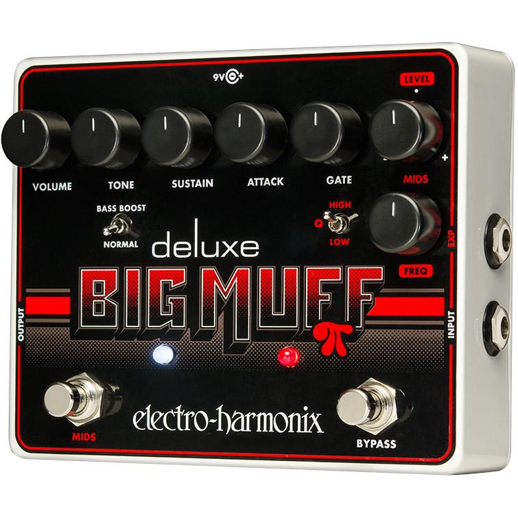 Deluxe Big Muff Pi(デラックスビッグマフ) ディストーション/ファズ【Electro-Harmonix/EHX/エレクトロ・ハーモニクス/エレハモ】【エフェクター】【ピック10枚セット付き!】