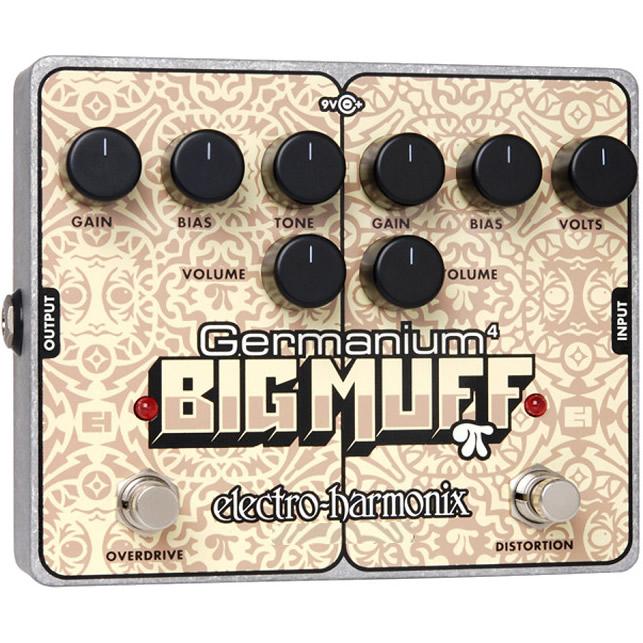 Germanium 4 Big Muff Pi(ゲルマニウム4ビッグマフ) ディストーション/ オーバードライブ【Electro-Harmonix/EHX/エレクトロ・ハーモニクス/エレハモ】【エフェクター】【ピック10枚セット付き!】