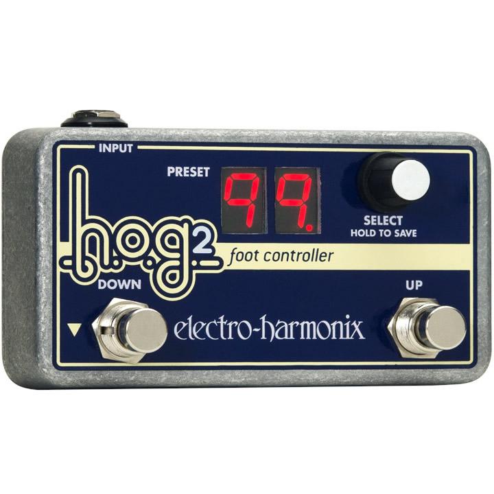 HOG2 Foot Controller HOG2専用フットコントローラー【Electro-Harmonix/EHX/エレクトロ・ハーモニクス/エレハモ】【エフェクター】【ピック10枚セット付き!】