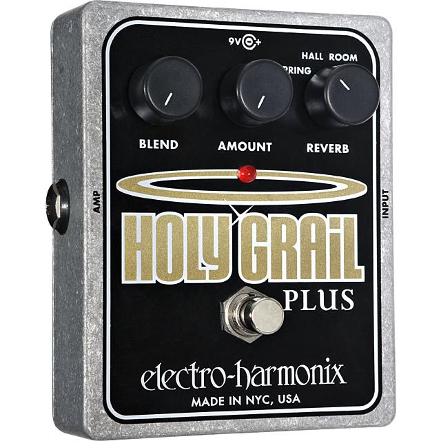 Holy Grail Plus(ホーリーグレイルプラス) リバーブ【Electro-Harmonix/EHX/エレクトロ・ハーモニクス/エレハモ】【エフェクター】【ピック10枚セット付き!】