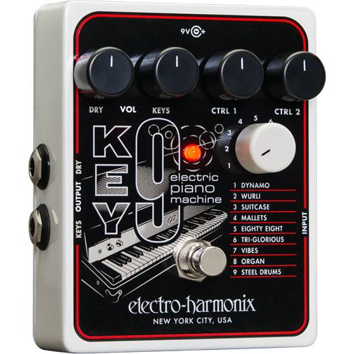 KEY9 Electric Piano Machine(エレクトリックピアノマシーン)【Electro-Harmonix/EHX/エレクトロ・ハーモニクス/エレハモ】【エフェクター】【ピック10枚セット付き!】