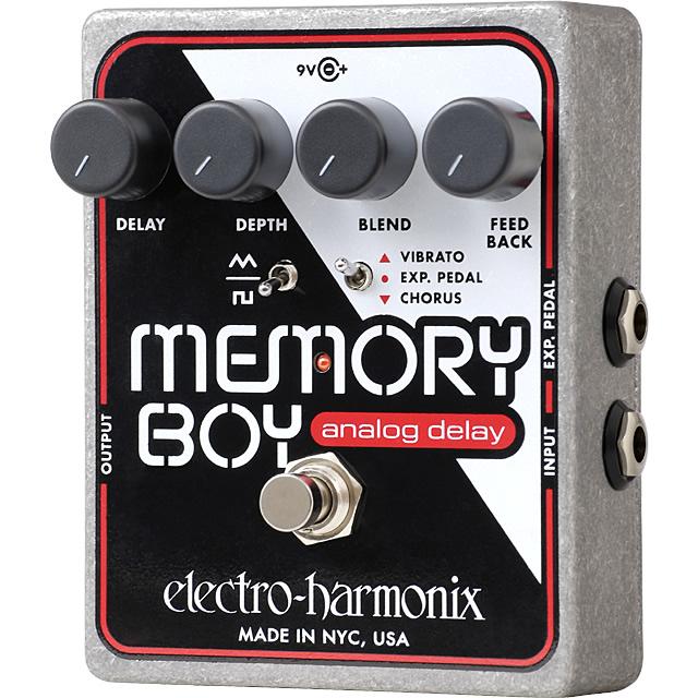 Memory Boy(メモリーボーイ) アナログ・ディレイ/コーラス/ビブラート【Electro-Harmonix/EHX/エレクトロ・ハーモニクス/エレハモ】【エフェクター】【ピック10枚セット付き!】