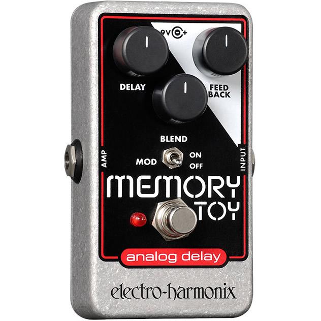Memory Toy(メモリートイ) アナログ・ディレイ【Electro-Harmonix/EHX/エレクトロ・ハーモニクス/エレハモ】【エフェクター】【ピック10枚セット付き!】
