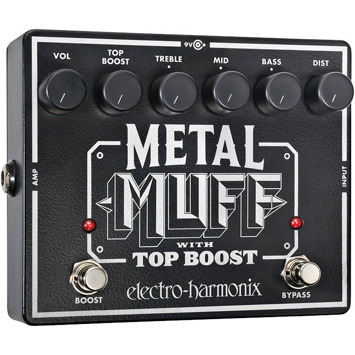 Metal Muff(メタルマフ) ディストーション with Top Boost【Electro-Harmonix/EHX/エレクトロ・ハーモニクス/エレハモ】【エフェクター】【ピック10枚セット付き!】