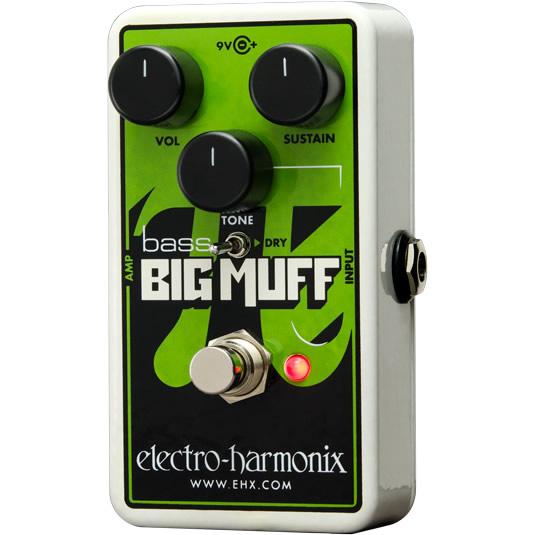 Nano Bass Big Muff Pi(ナノベースビッグマフ) ベース用ディストーション/ファズ【Electro-Harmonix/EHX/エレクトロ・ハーモニクス/エレハモ】【エフェクター】【ピック10枚セット付き!】