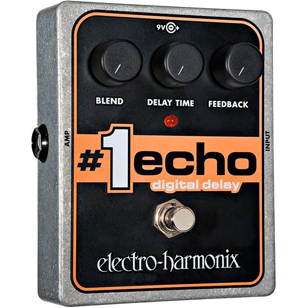 #1 Echo(ナンバーワンエコー) デジタル・ディレイ【Electro-Harmonix/EHX/エレクトロ・ハーモニクス/エレハモ】【エフェクター】【ピック10枚セット付き!】
