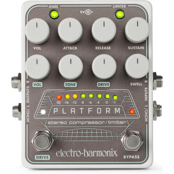 アナログコンプレッサー【Electro-Harmonix/EHX/エレクトロ・ハーモニクス/エレハモ】【エフェクター】 【ピック10枚セット付き!】Platform(プラットフォーム)