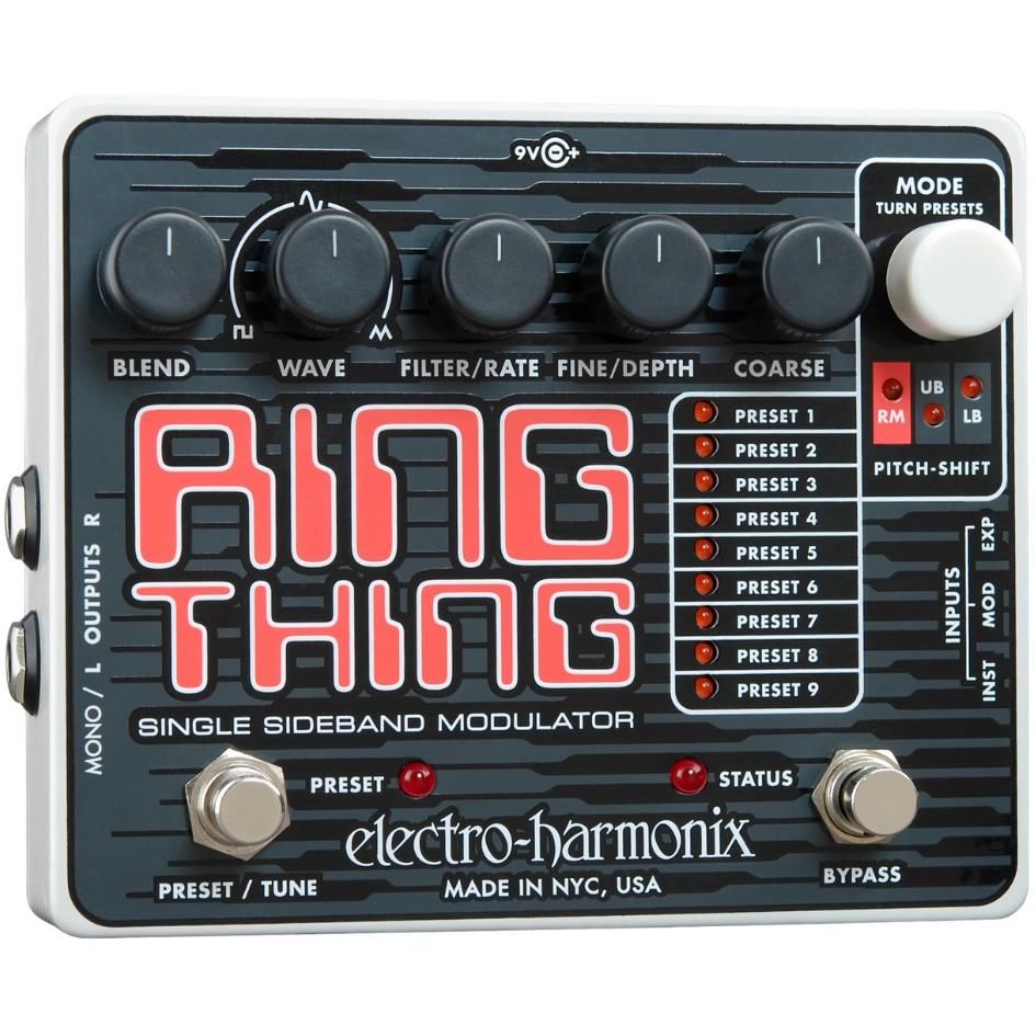 Ring Thing(リングシング) リングモジュレーター【Electro-Harmonix/EHX/エレクトロ・ハーモニクス/エレハモ】【エフェクター】