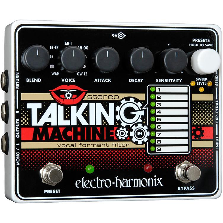 Stereo Talking Machine(ステレオトーキングマシーン) トーキング・モジュレーター【Electro-Harmonix/EHX/エレクトロ・ハーモニクス/エレハモ】【エフェクター】【ピック10枚セット付き!】
