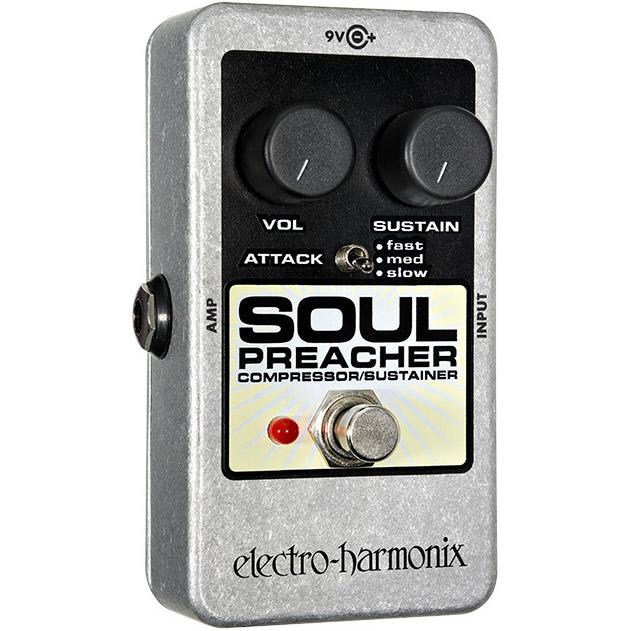 Soul Preacher(ソウルプリーチャー) コンプレッサー/サスティナー【Electro-Harmonix/EHX/エレクトロ・ハーモニクス/エレハモ】【エフェクター】【ピック10枚セット付き!】