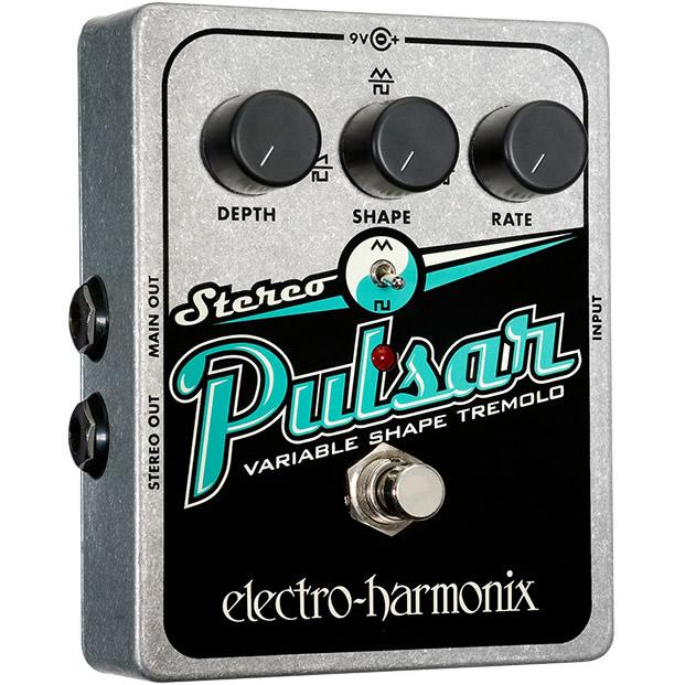 Stereo Pulsar(ステレオパルサー) トレモロ【Electro-Harmonix/EHX/エレクトロ・ハーモニクス/エレハモ】【エフェクター】【ピック10枚セット付き!】