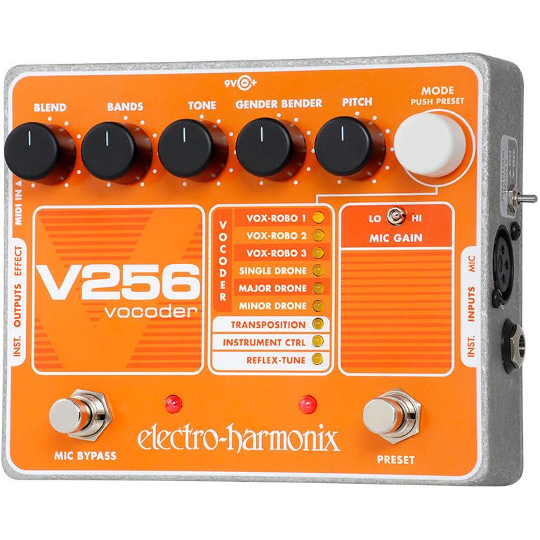 V256 ボコーダー【Electro-Harmonix/EHX/エレクトロ・ハーモニクス/エレハモ】【エフェクター】【ピック10枚セット付き!】