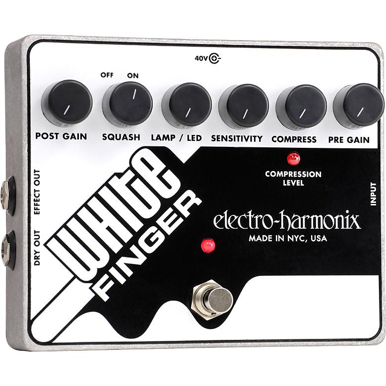 White Finger(ホワイトフィンガー) コンプレッサー【Electro-Harmonix/EHX/エレクトロ・ハーモニクス/エレハモ】【エフェクター】【ピック10枚セット付き!】