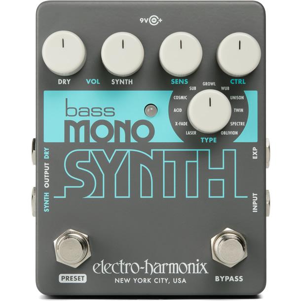 【今だけポイント5倍!12月2日9時59分まで】【ピック10枚セット付き!】Bass Mono Synth (ベースモノシンセ) ベースシンセ【Electro-Harmonix EHX エレクトロ・ハーモニクス エレハモ エフェクター】