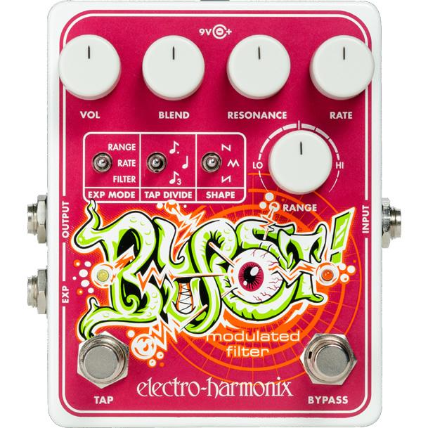 【ピック10枚セット付き!】Blurst エンベロープ・フィルター【Electro-Harmonix/EHX/エレクトロ・ハーモニクス/エレハモ】【エフェクター】