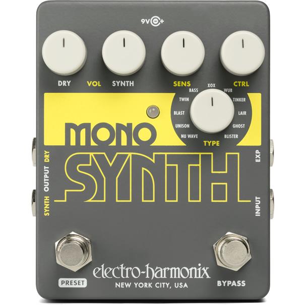 【ピック10枚セット付き!】Mono Synth (モノシンセ) ギターシンセ【Electro-Harmonix EHX エレクトロ・ハーモニクス エレハモ エフェクター】