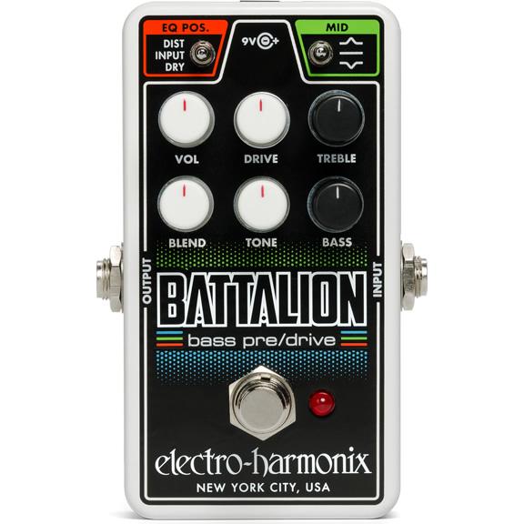 【今だけポイント5倍!12月2日9時59分まで】【ピック10枚セット付き!】Nano Battalion (ナノバタリオン) ベースオーバードライブ【Electro-Harmonix EHX エレクトロ・ハーモニクス エレハモ エフェクター】