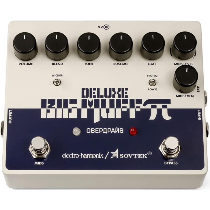 【今だけポイント5倍!12月2日9時59分まで】【ピック10枚セット付き!】Sovtek Deluxe Big Muff Pi (ソブテックデラックスビッグマフパイ) ディストーション【Electro-Harmonix EHX エレクトロ・ハーモニクス エレハモ エフェクター】