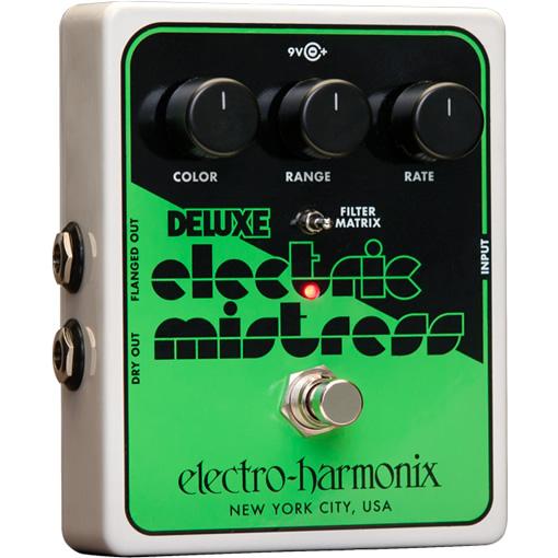 Deluxe Electric Mistress XO (デラックスエレクトリックミストレス) フランジャー【Electro-Harmonix/EHX/エレクトロ・ハーモニクス/エレハモ】【エフェクター】【ピック10枚セット付き!】