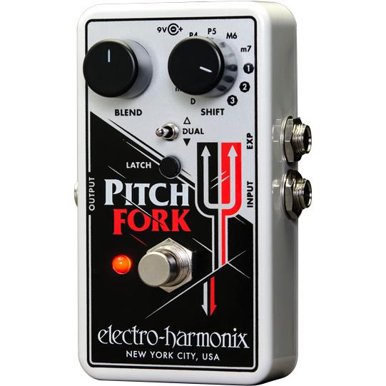 Pitch Fork(ピッチフォーク) ピッチシフター【Electro-Harmonix/EHX/エレクトロ・ハーモニクス/エレハモ】【エフェクター】【ピック10枚セット付き!】