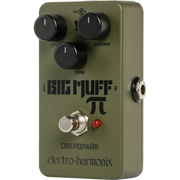 【ピック10枚セット付き!】Green Russian Big Muff(グリーンロシアンビッグマフ) ディストーション/ファズ【エレクトロハーモニクス/エレハモ】【エフェクター】